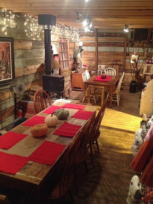 Thanksgiving at Pauley Alpaca Company farm store